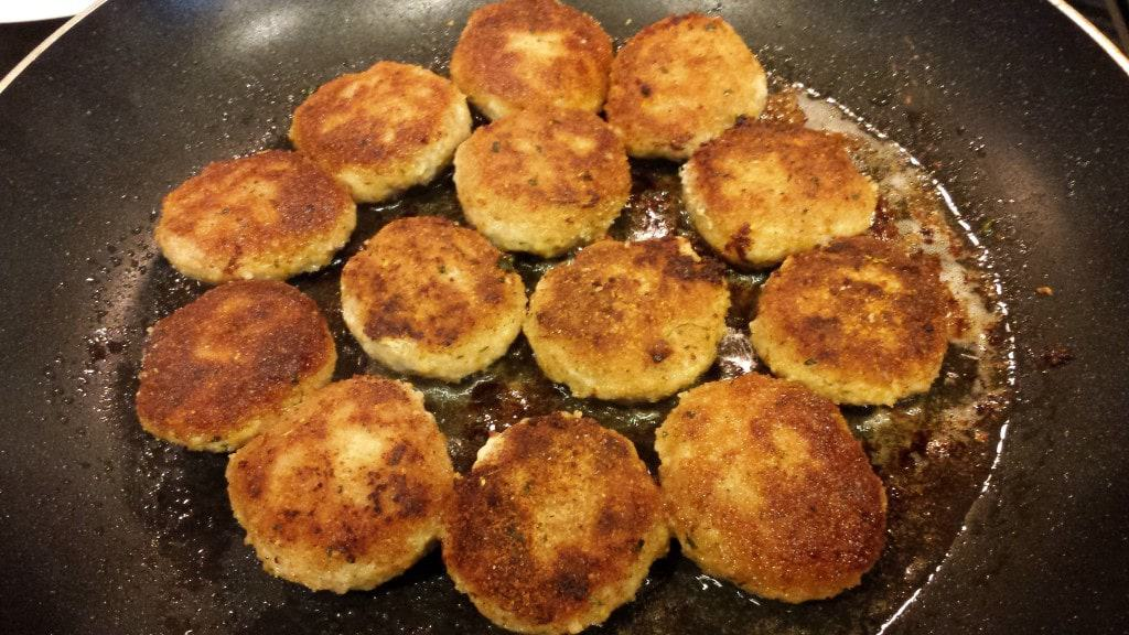 Turkey and Pork Meat Patties (Kotlety) - Котлеты 2