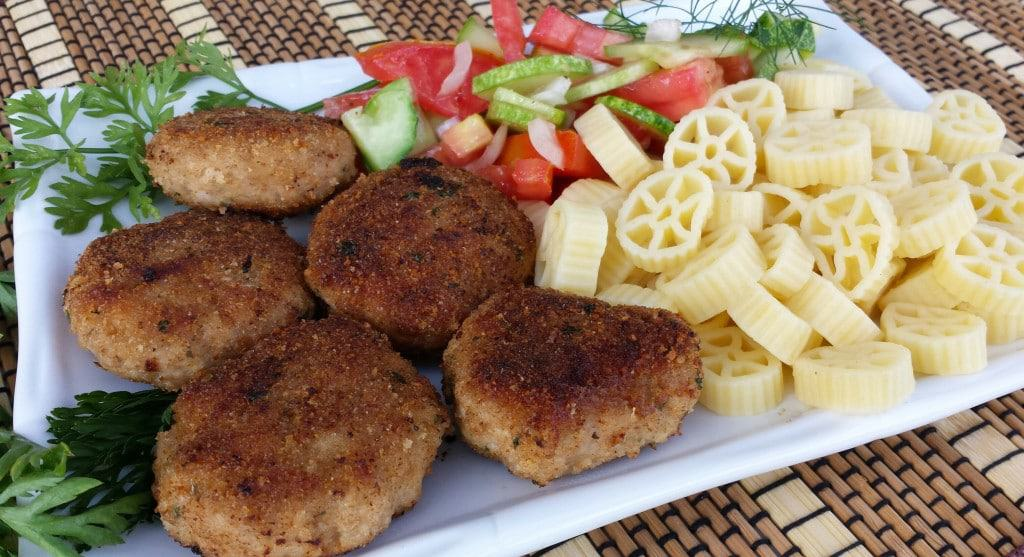 Turkey and Pork Meat Patties (Kotlety) - Котлеты