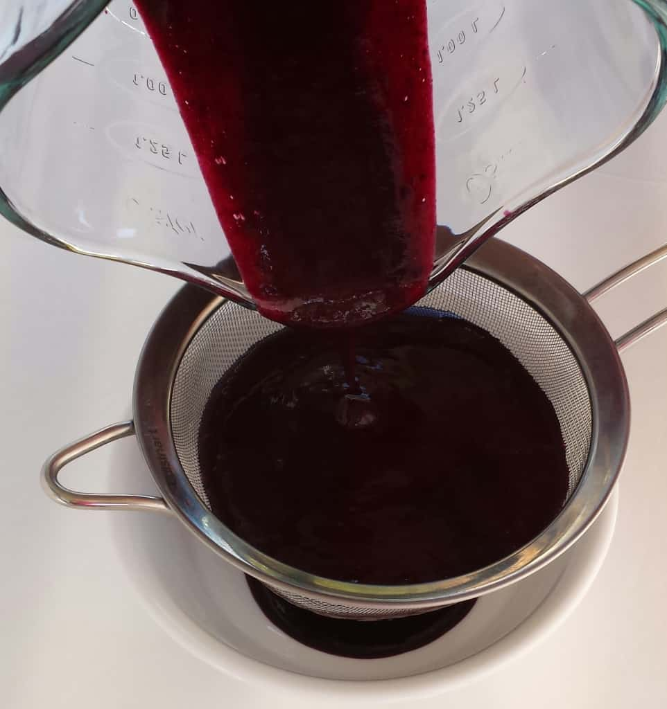 Blueberry Coulis Sauce