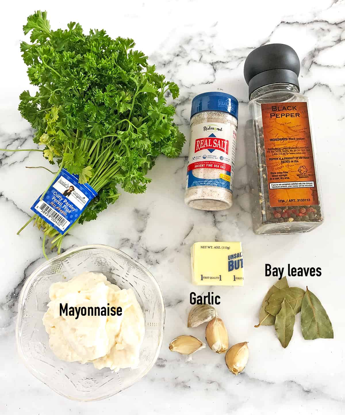 Ingredients for the Scalloped Potatoes with Carrots