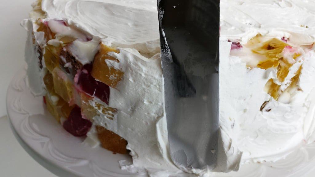 "Cake ""Broken Glass"""