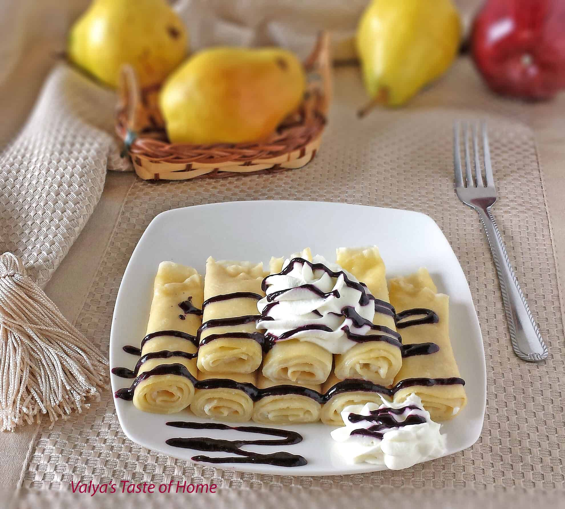 Crepes with Cheese (Nalisniki – Налисники)