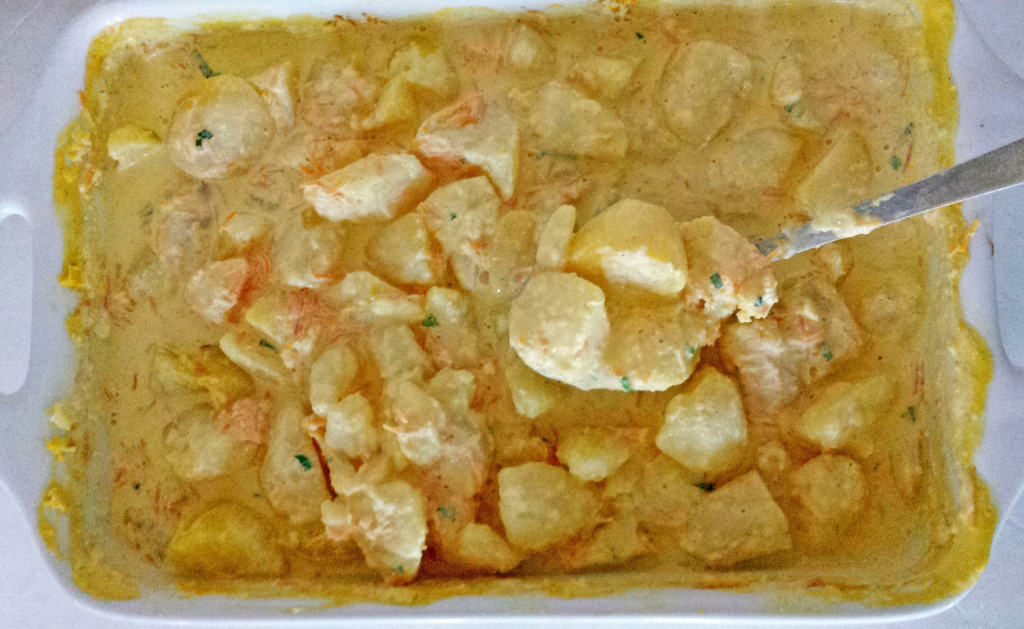 Rich N' Creamy Potato Casserole Recipe