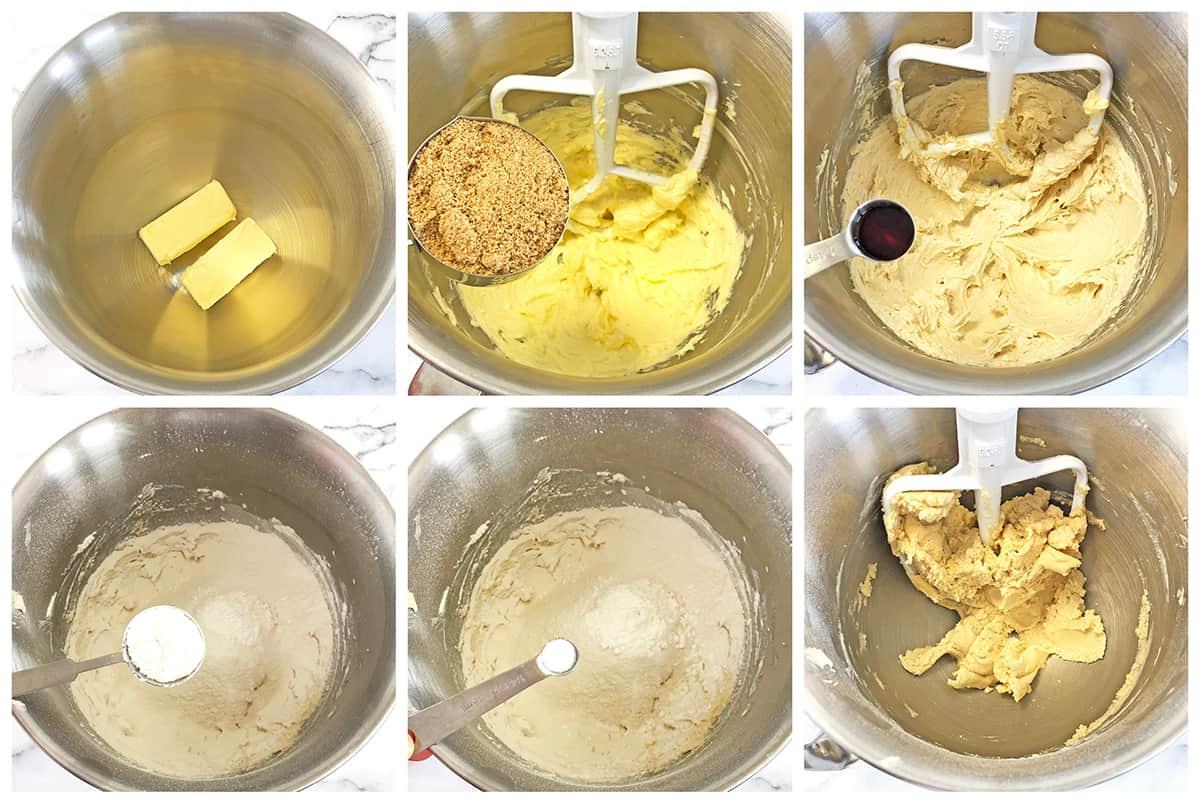 How to make shortbread dough