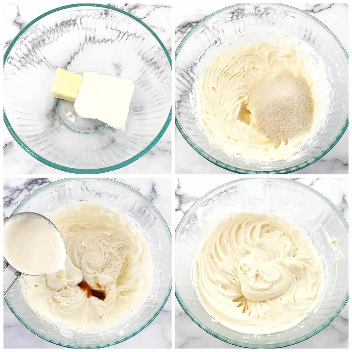 How to make the Cinnamon Rolls Cream Cheese Frosting
