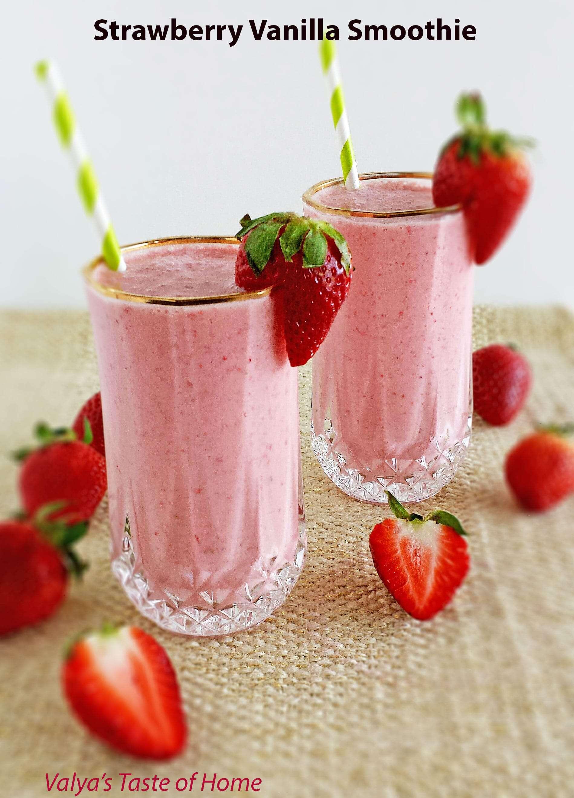 Strawberry Vanilla Smooth
