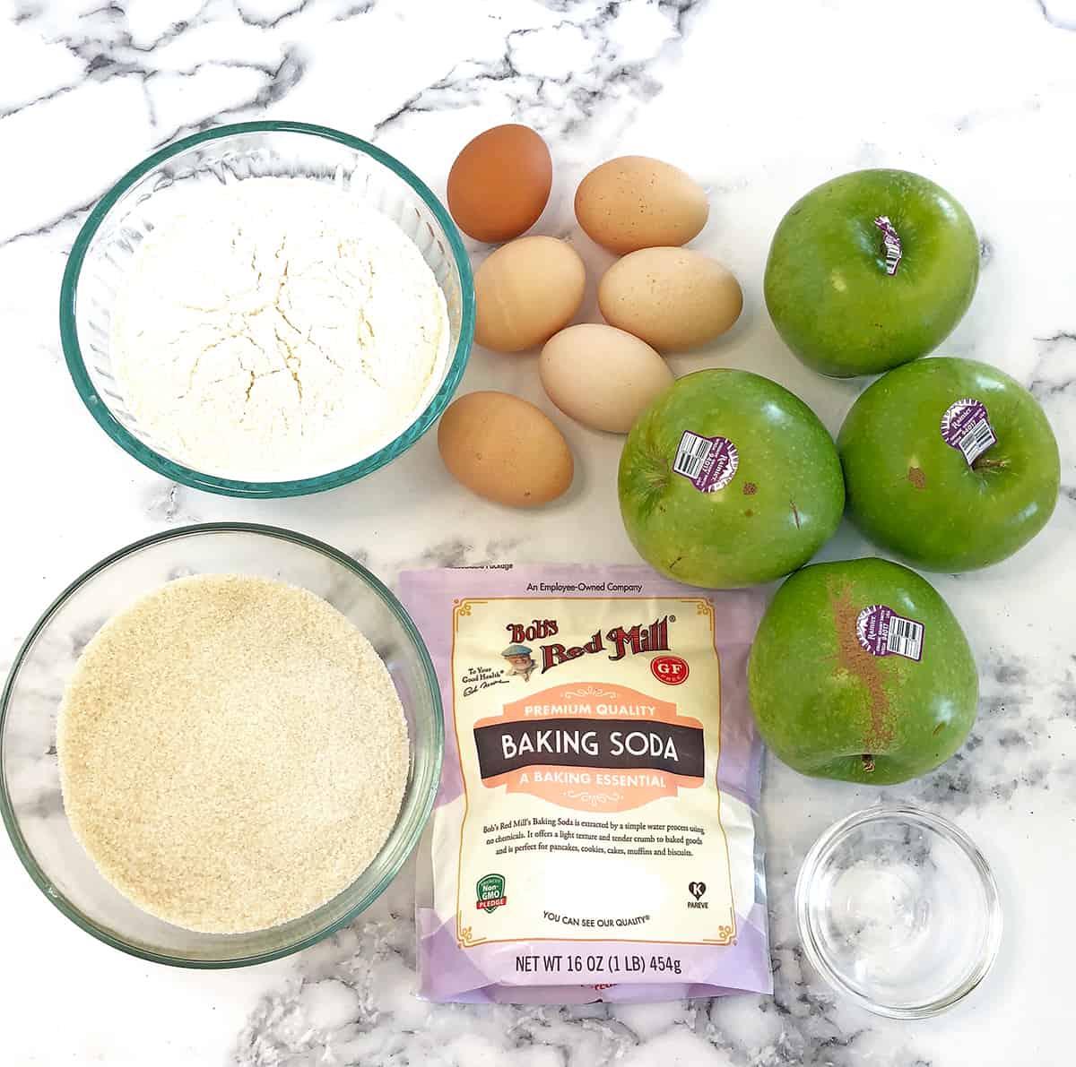 Apple Cake Batter Ingredients
