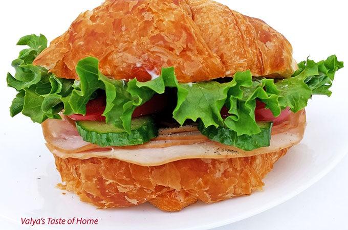 Turkey Croissan'wich Appetizers