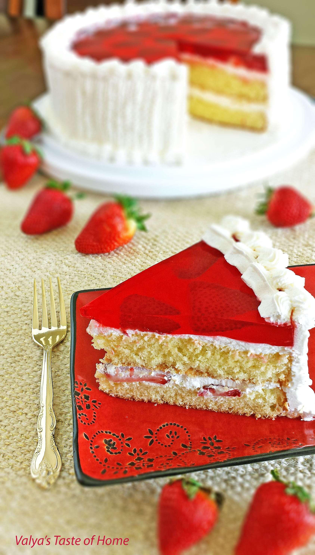 "Cake ""Strawberry"""