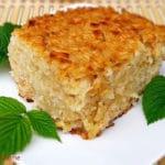 Rice Zapekanka with Apples