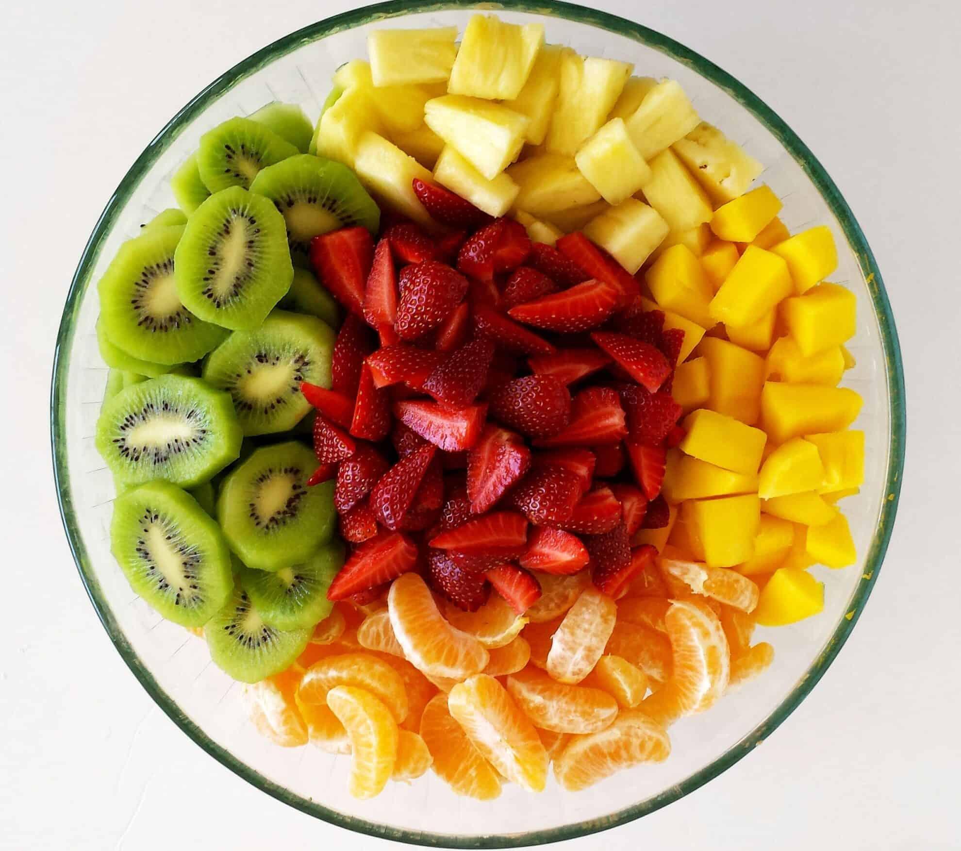 Tropical Fruit Salad - Valya's Taste of Home