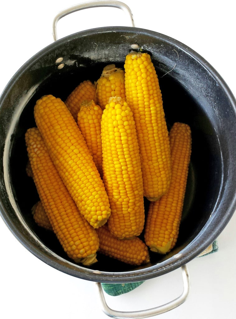 Cooked Corn on the Cob