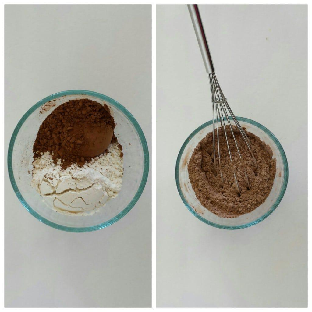 Honey Chocolate Roulade with Fresh Raspberry Cream