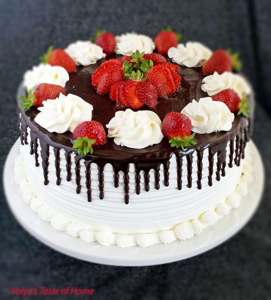Extra Large Strawberry Cake