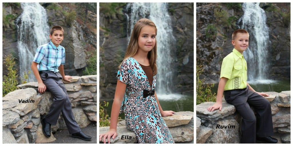 Vadim, Ella, Ruvim - my family