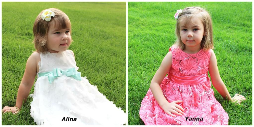 Alina and Yanna - my family