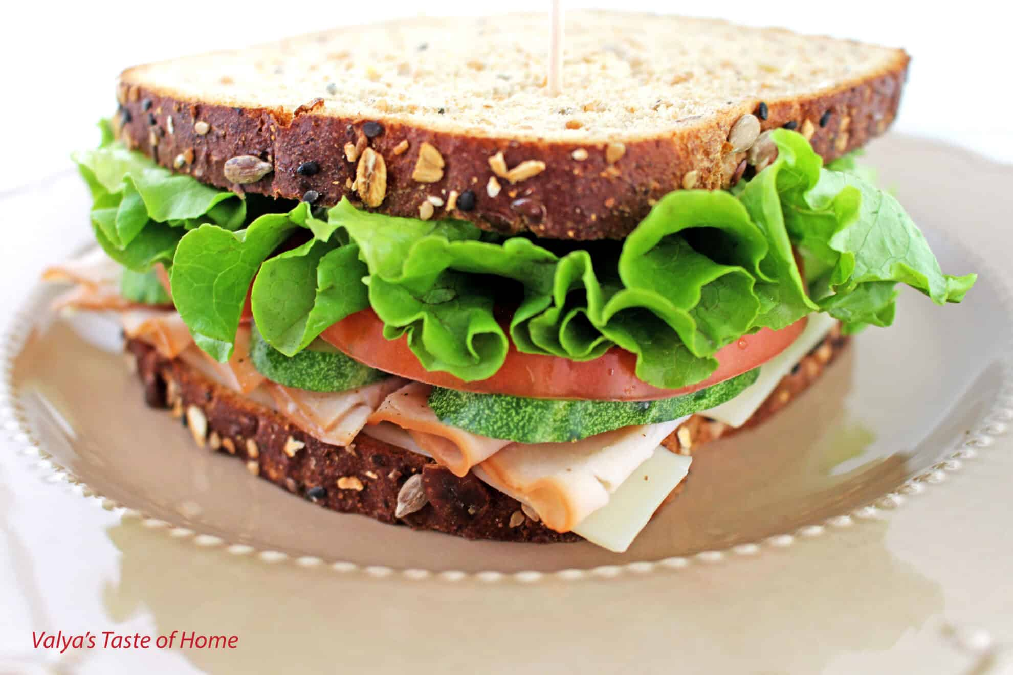 Turkey Sandwich Recipe Valya S Taste Of Home