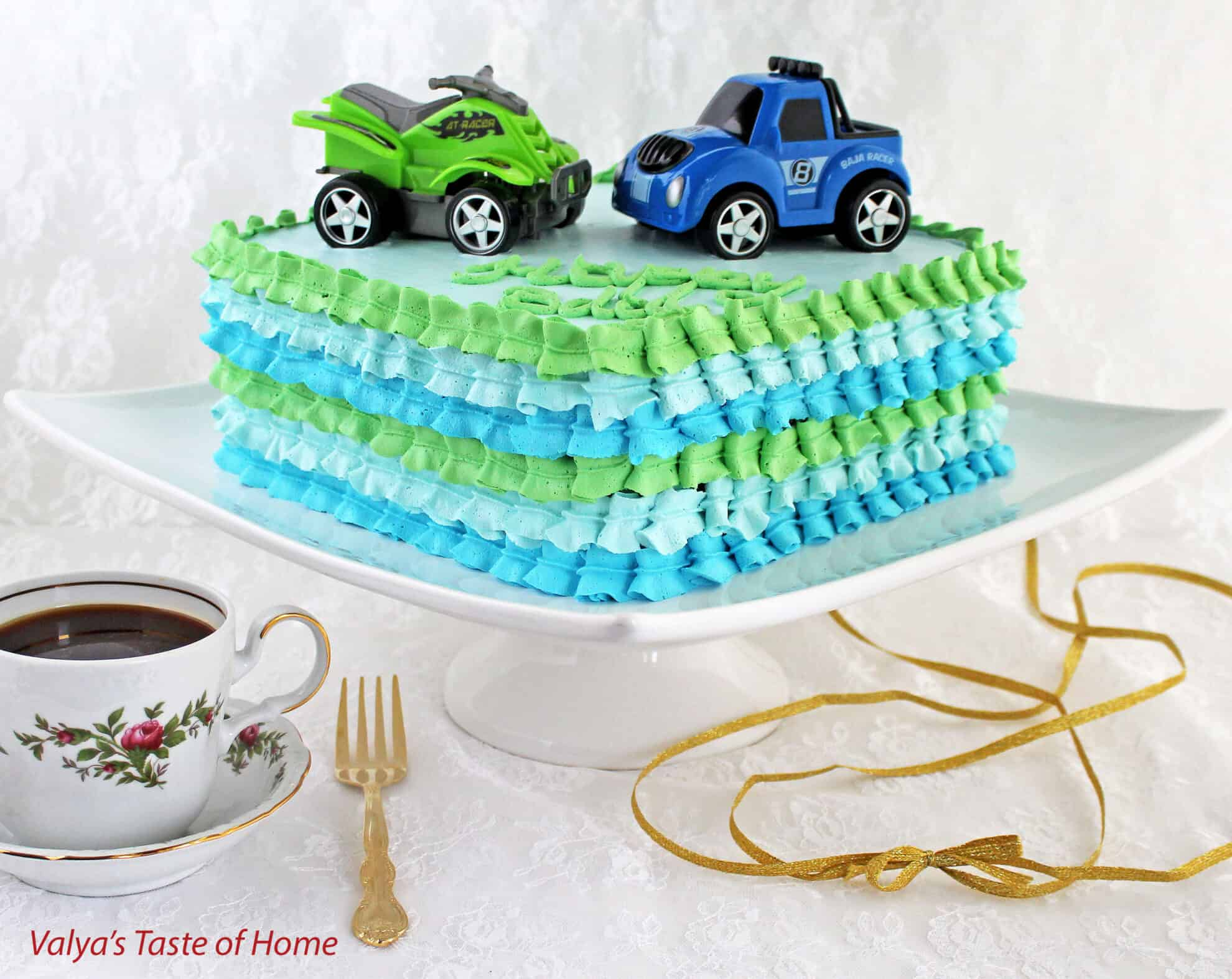 Cake Day And Night Valyas Taste Of Home