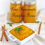 Pure Homemade Pumpkin Puree