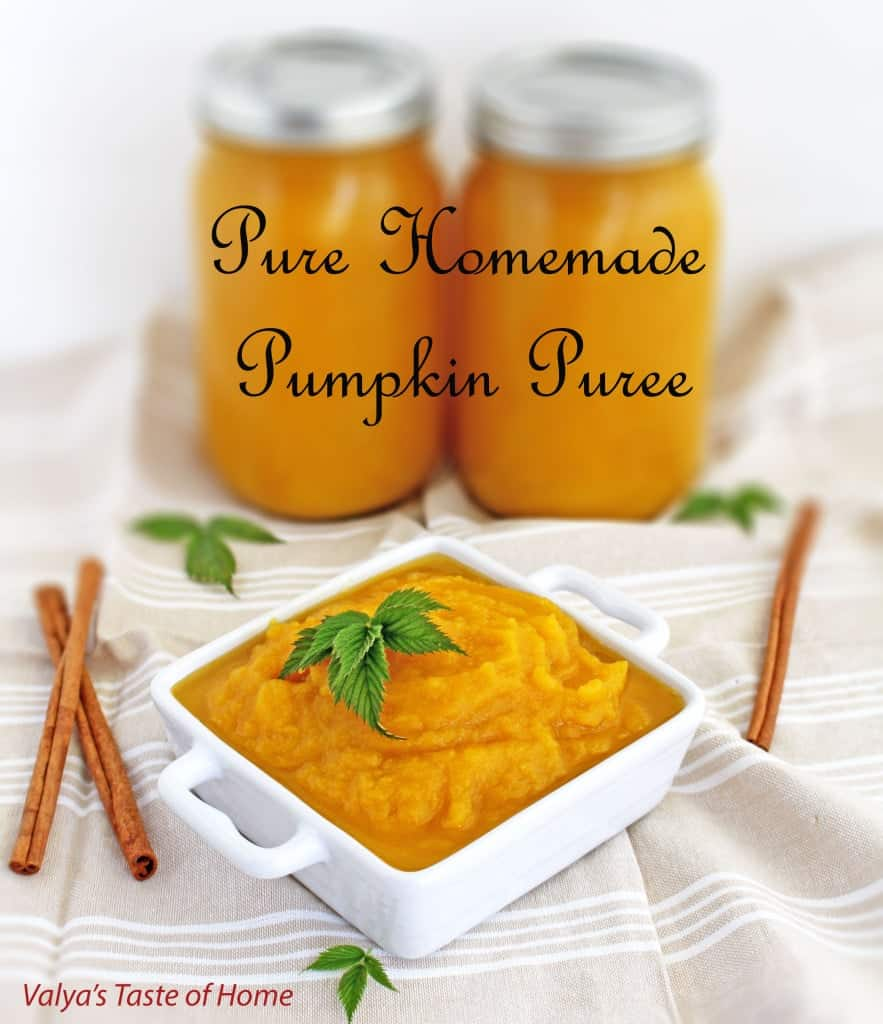 When it comes to foods like these, it's quicker to grab a can at the store. But if you want a much healthier, better-tasting puree, homemade is the way to go. This Pure Homemade Pumpkin Puree is super easy to make and very delicious.
