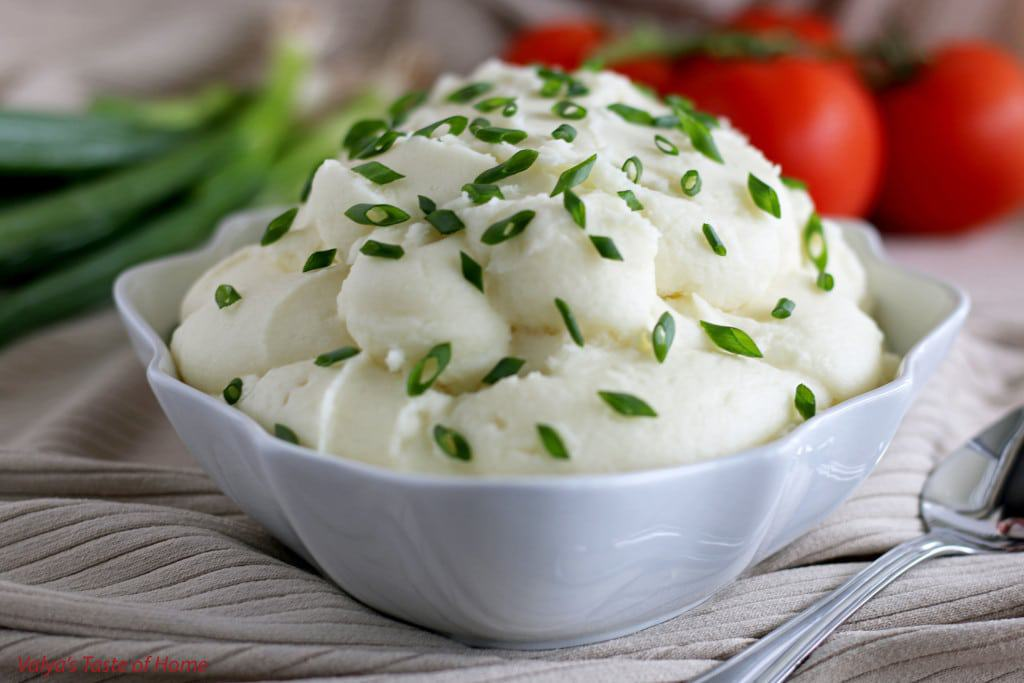 Creamy Mashed Potatoes Puree