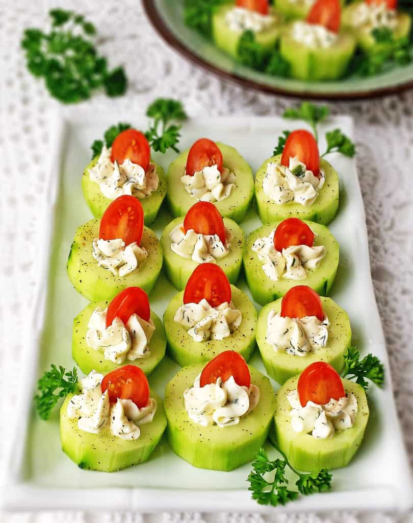 Simple appetizers for new year 39 s eve valya 39 s taste of home for Simple canape appetizer