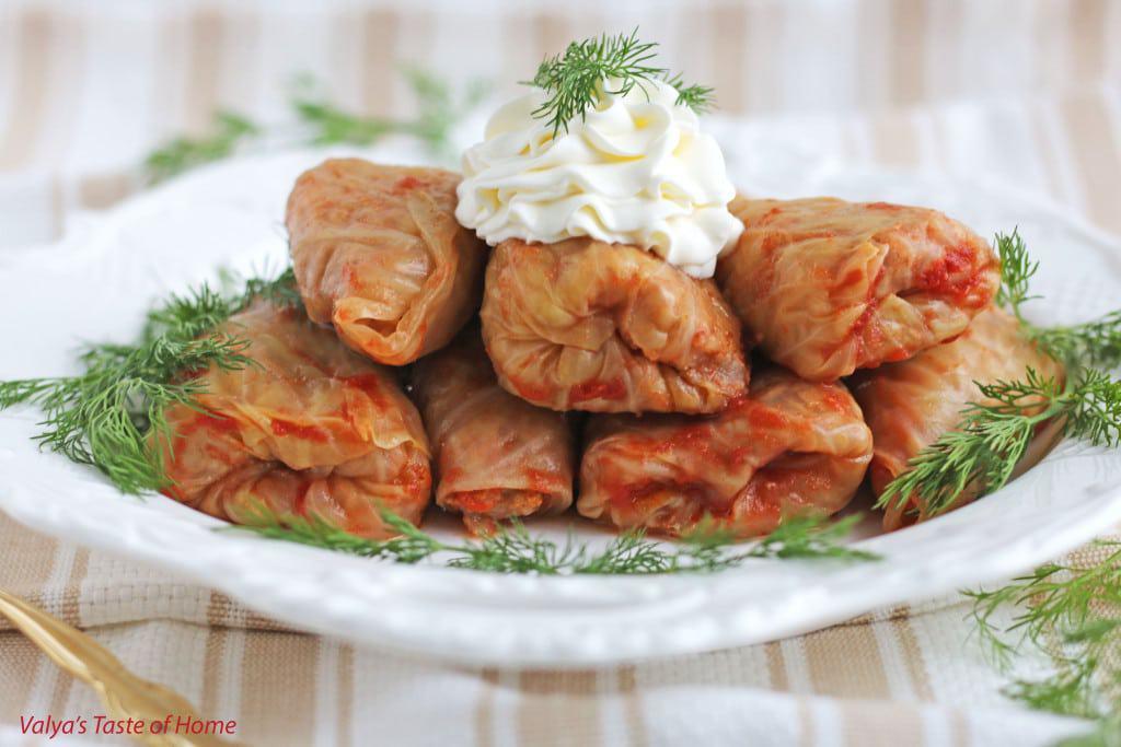 Cabbage Rolls - Golubtsi