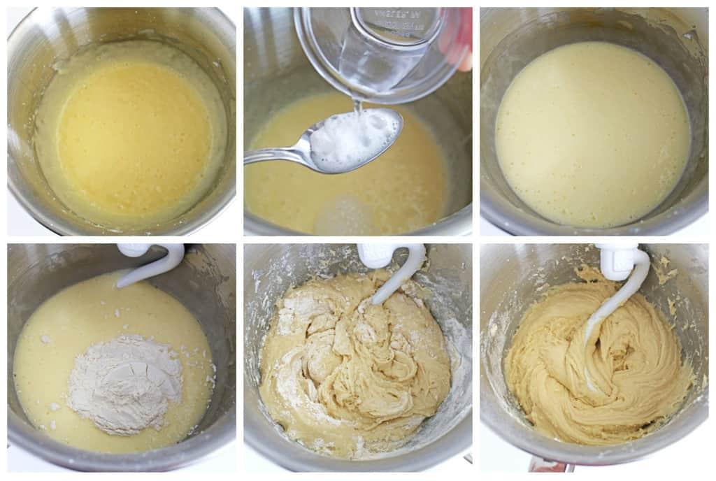 Peppermint Glazed Cookies