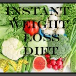 Instant Weight Loss Diet (Part I) + Giveaway