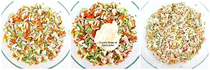 Sunflower Salad Recipe