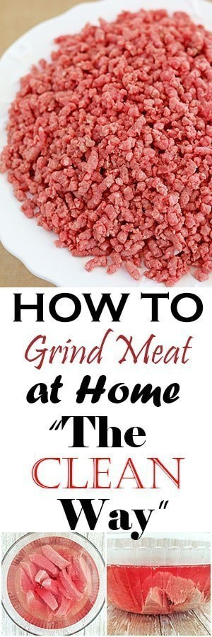 "How to Grind Meat at Home ""The Clean Way"""