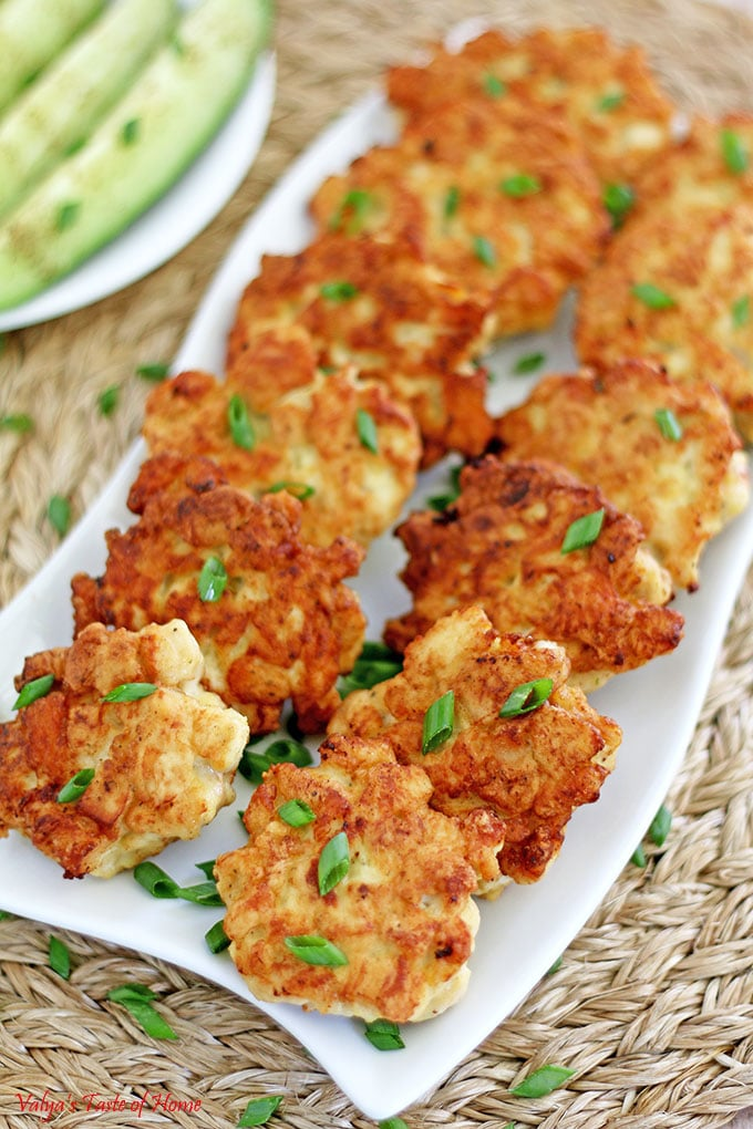 Tasty Chicken Fritters