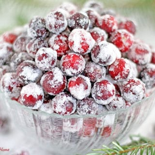How to Make Frosty Cranberries