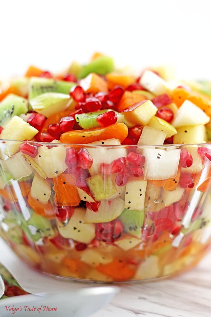 healthy winter fruit salad fruit desserts healthy