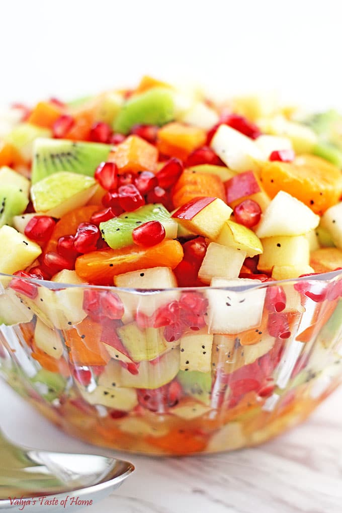 healthy winter fruit salad fruit cleanse