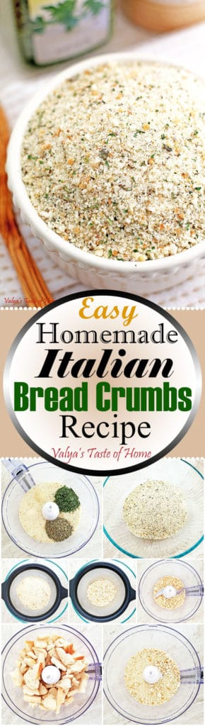 Easy Homemade Italian Bread Crumbs Recipe