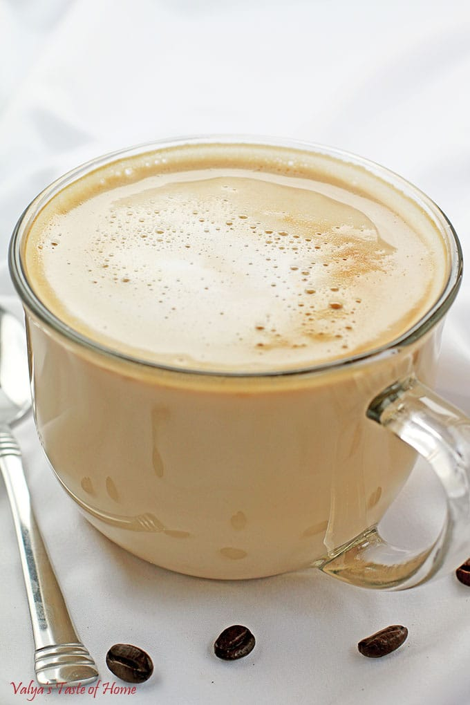 Hot Vanilla Caramel Latte Recipe