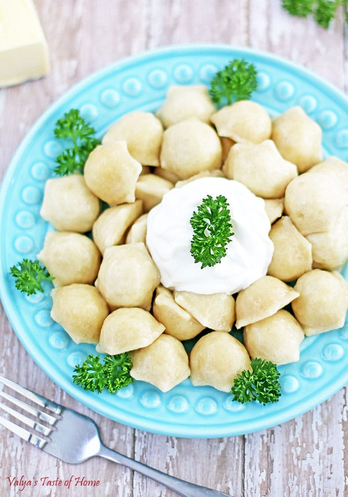 Turkey Pelmeni Recipe (Ukrainian Meat Dumplings)