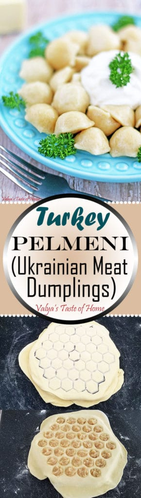 Turkey Pelmeni Recipe (Ukrainian Meat Dumplings)
