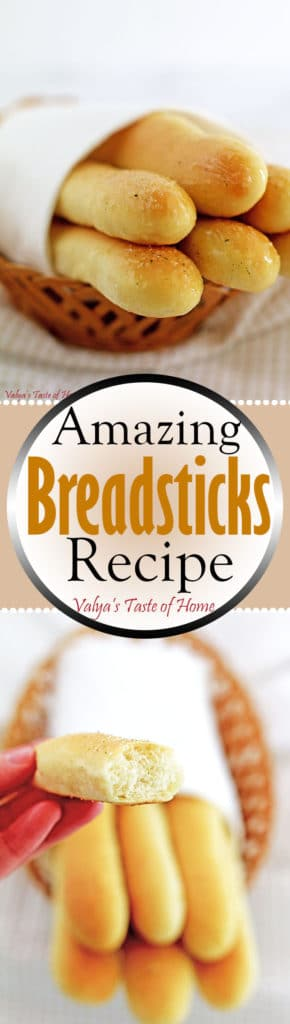 Amazing Bread Sticks Recipe