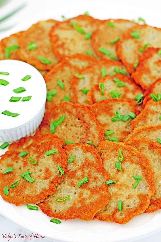 Crispy ukrainian potato pancakes recipe valyas taste of home crispy ukrainian potato pancakes recipe ccuart