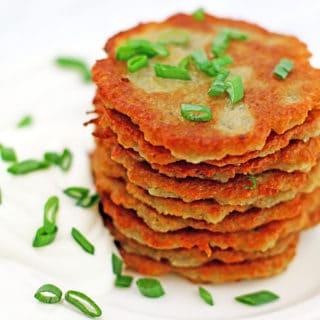 Crispy Ukrainian Potato Pancake Recipe