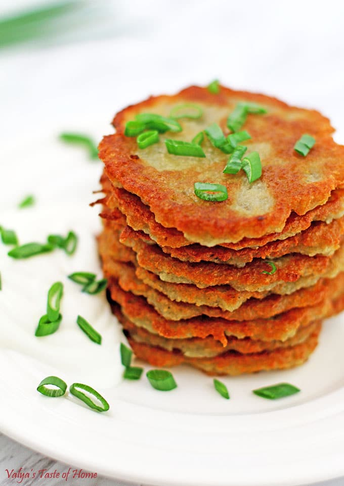 Crispy Ukrainian Potato Pancakes Recipe