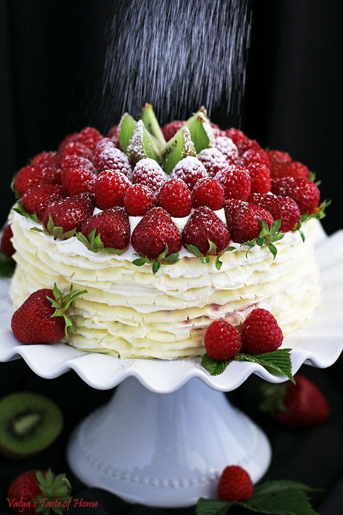 Fruit Crepe Cake Recipe Valya S Taste Of Home