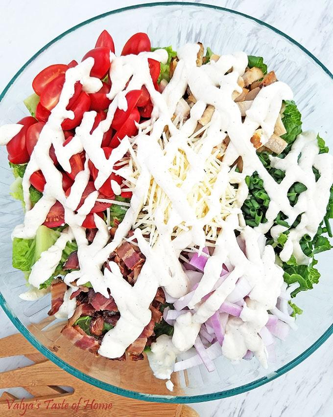 Mom's Best BLT Caesar Salad Recipe
