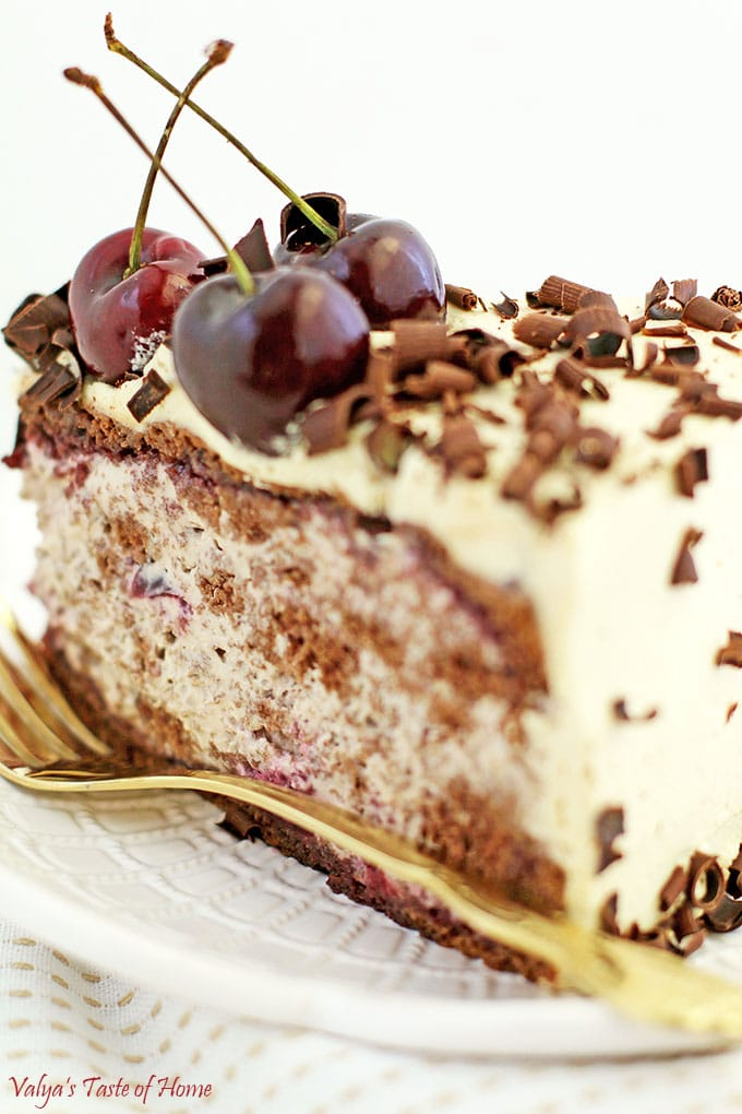 Drunken Cherry Cake Recipe