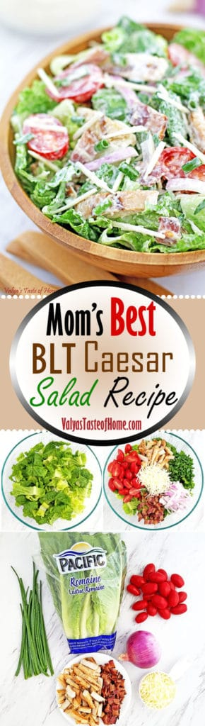 Mom's Best BLT Caesar Salad Recipe