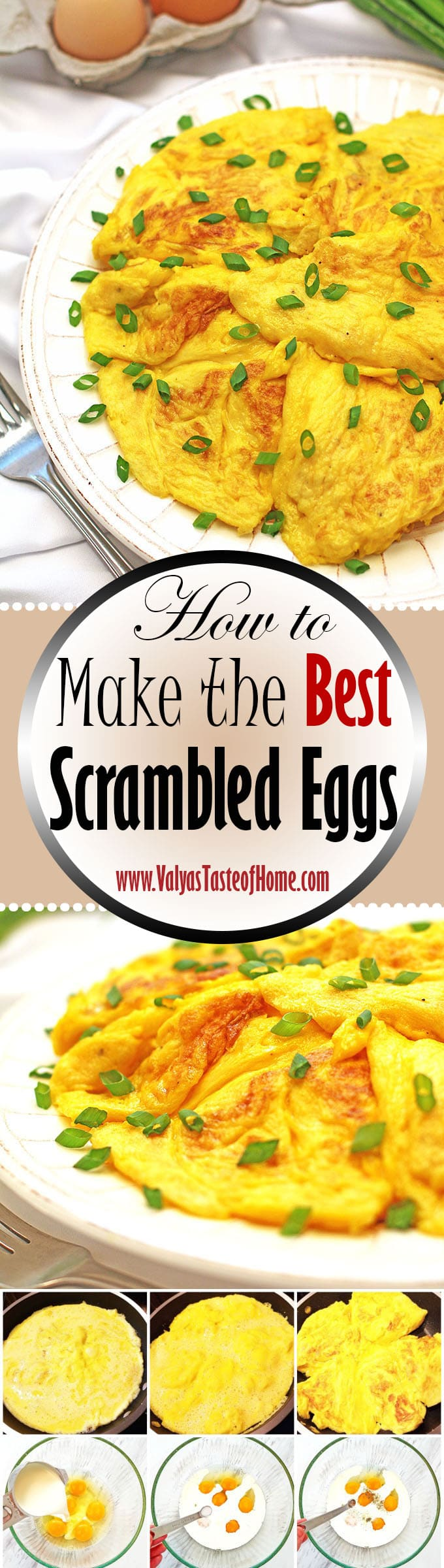 How to make the best scrambled eggs recipe valyas taste of home best scrambled eggs recipe breakfast treat comfort food home eggs how to fandeluxe Document