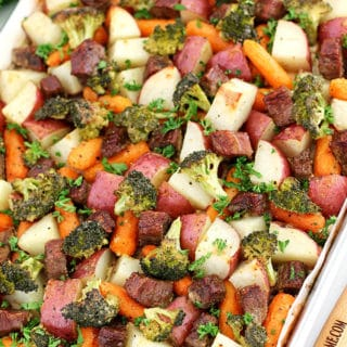 One-Pan Roasted Beef and Vegetables Recipe
