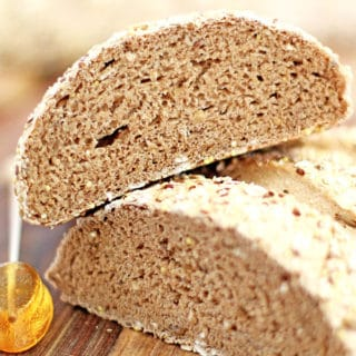 Multi-Grain Honey Whole Wheat Bread Recipe